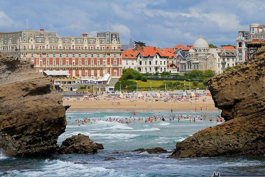 French Basque country beaches