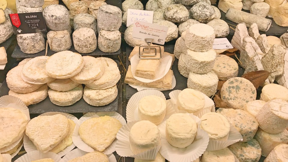 French cheese in biarritz