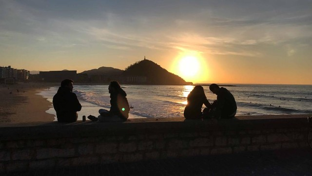 San Sebastian beach LIFESTYLE