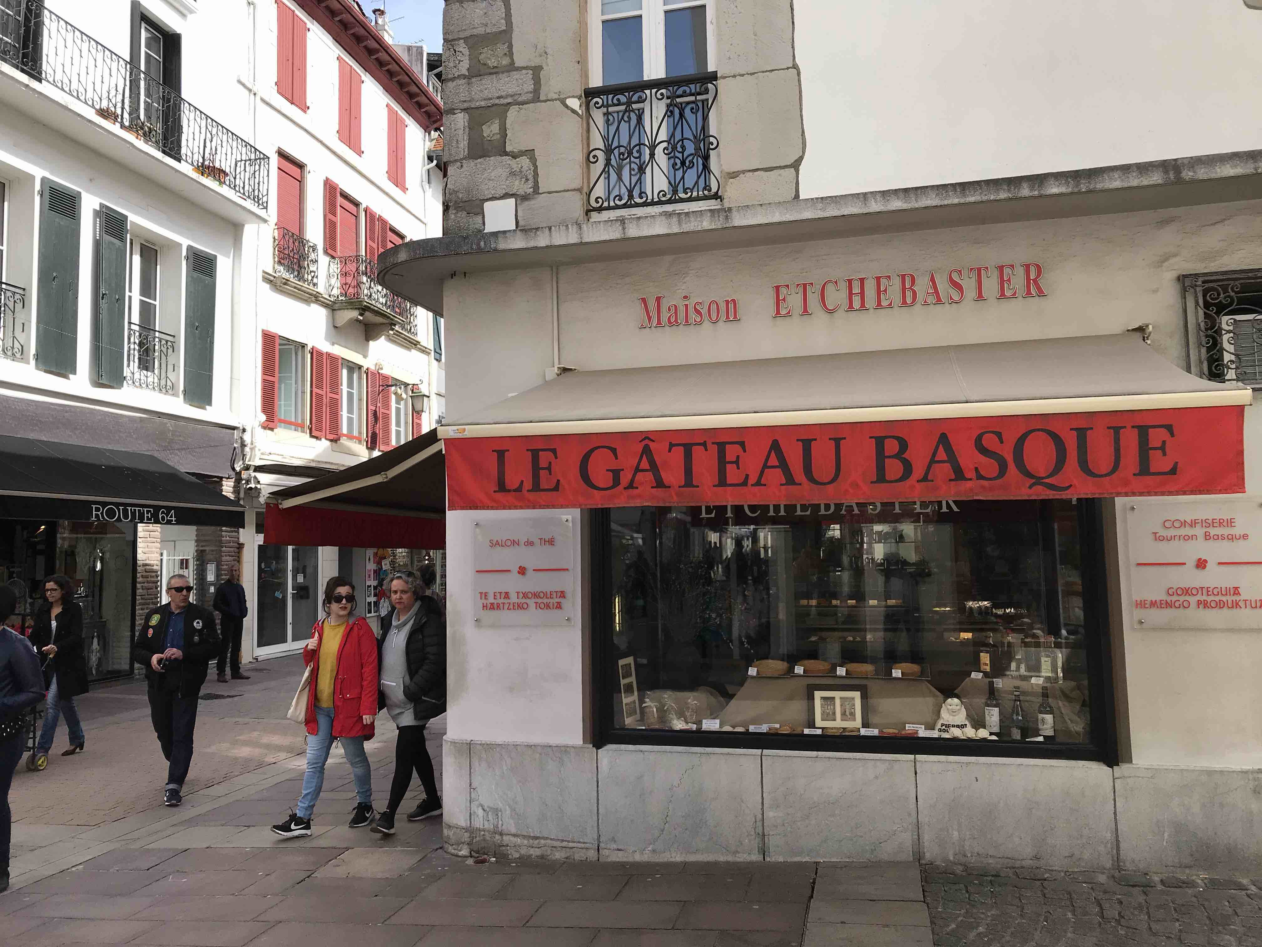 gateau Basque in saint jean de luz