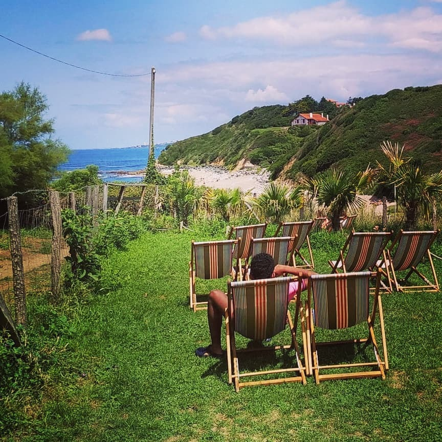 beach bars in French Basque Country