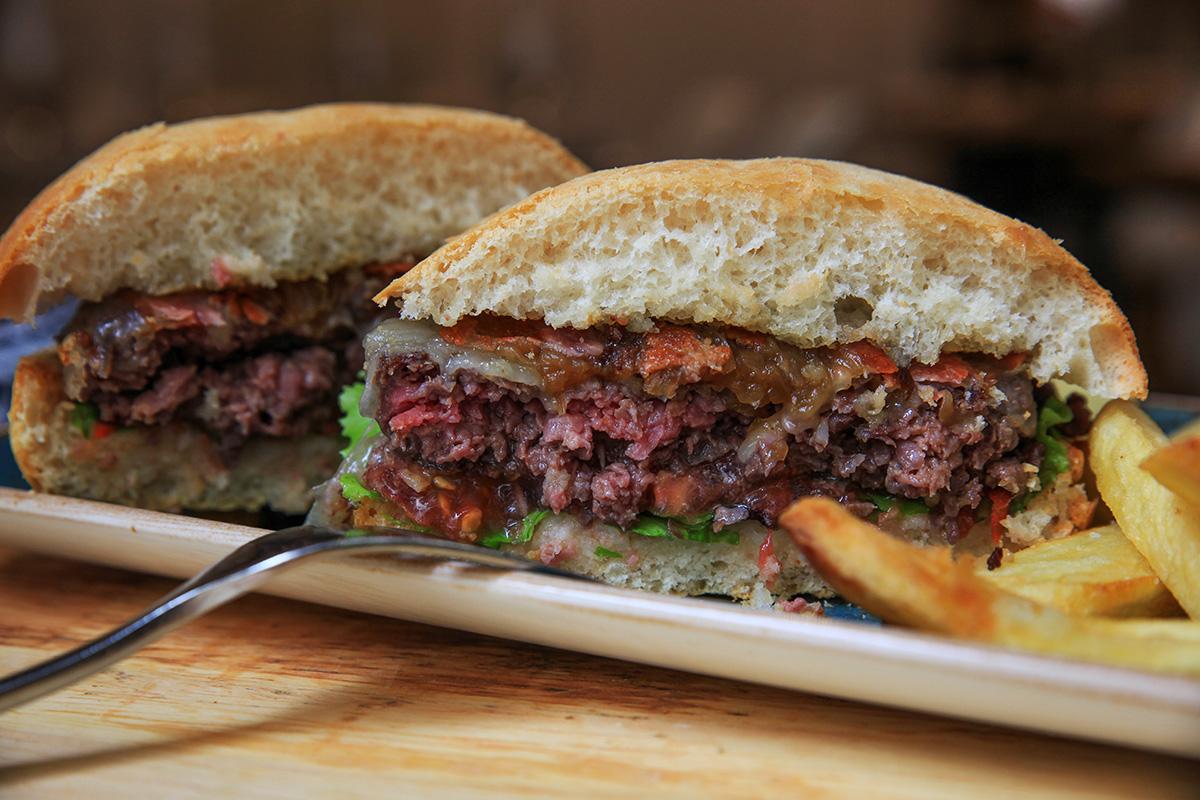 Drinka Hamburger in San Sebastian