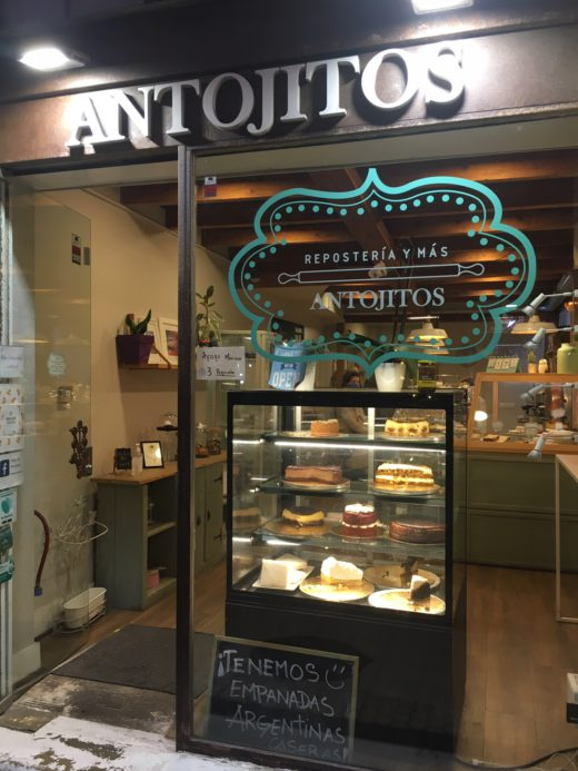 Antojitos bakery in San Sebastian