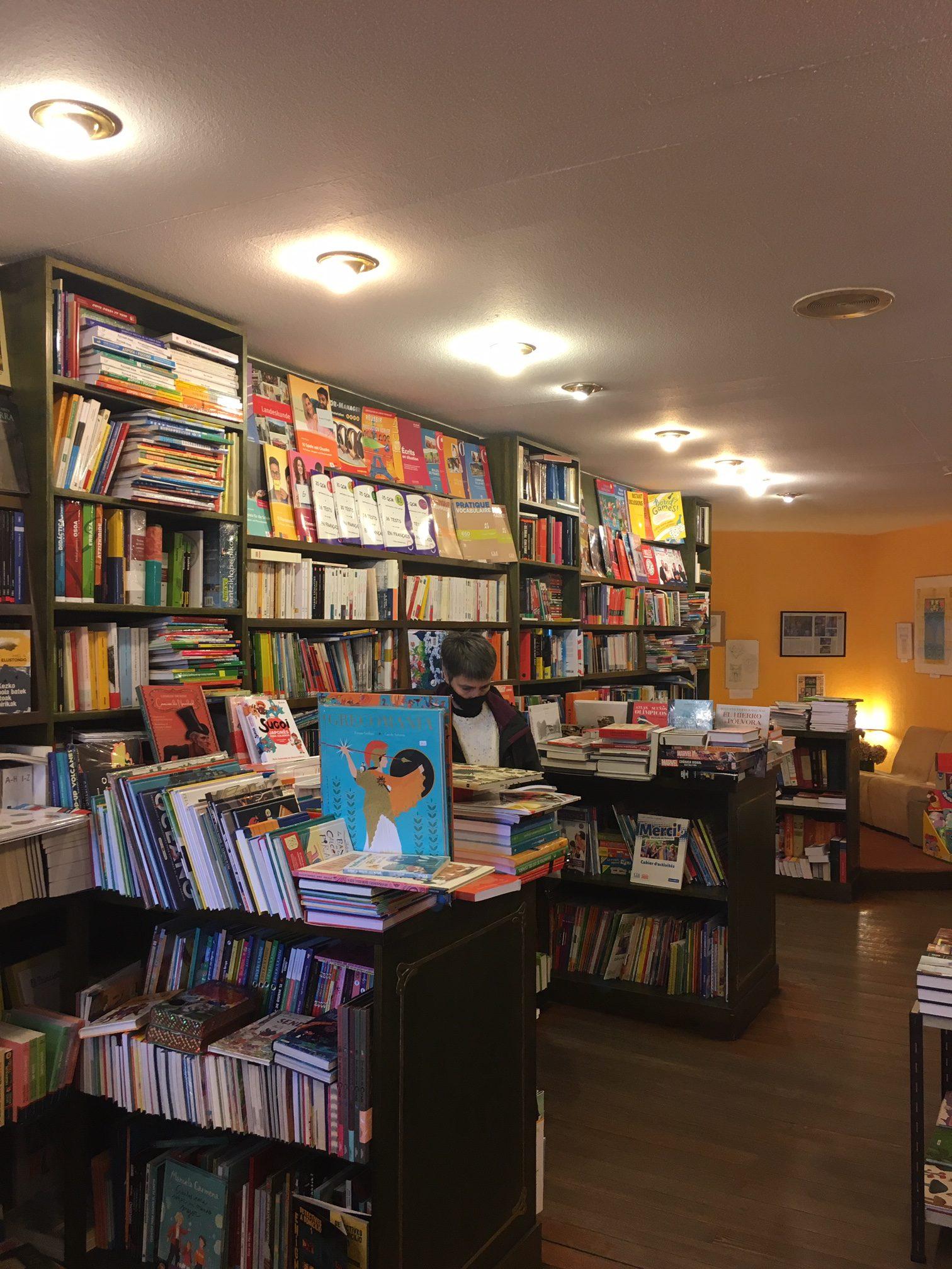 Donosti bookstore in San Sebastian