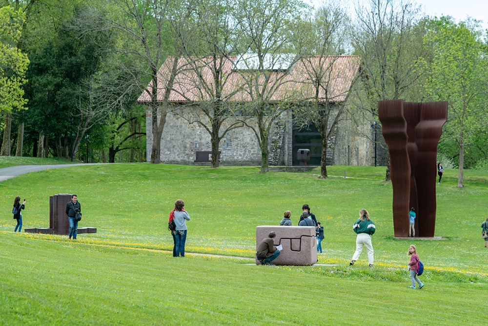 Chillida Leku Museum is the best outside museum