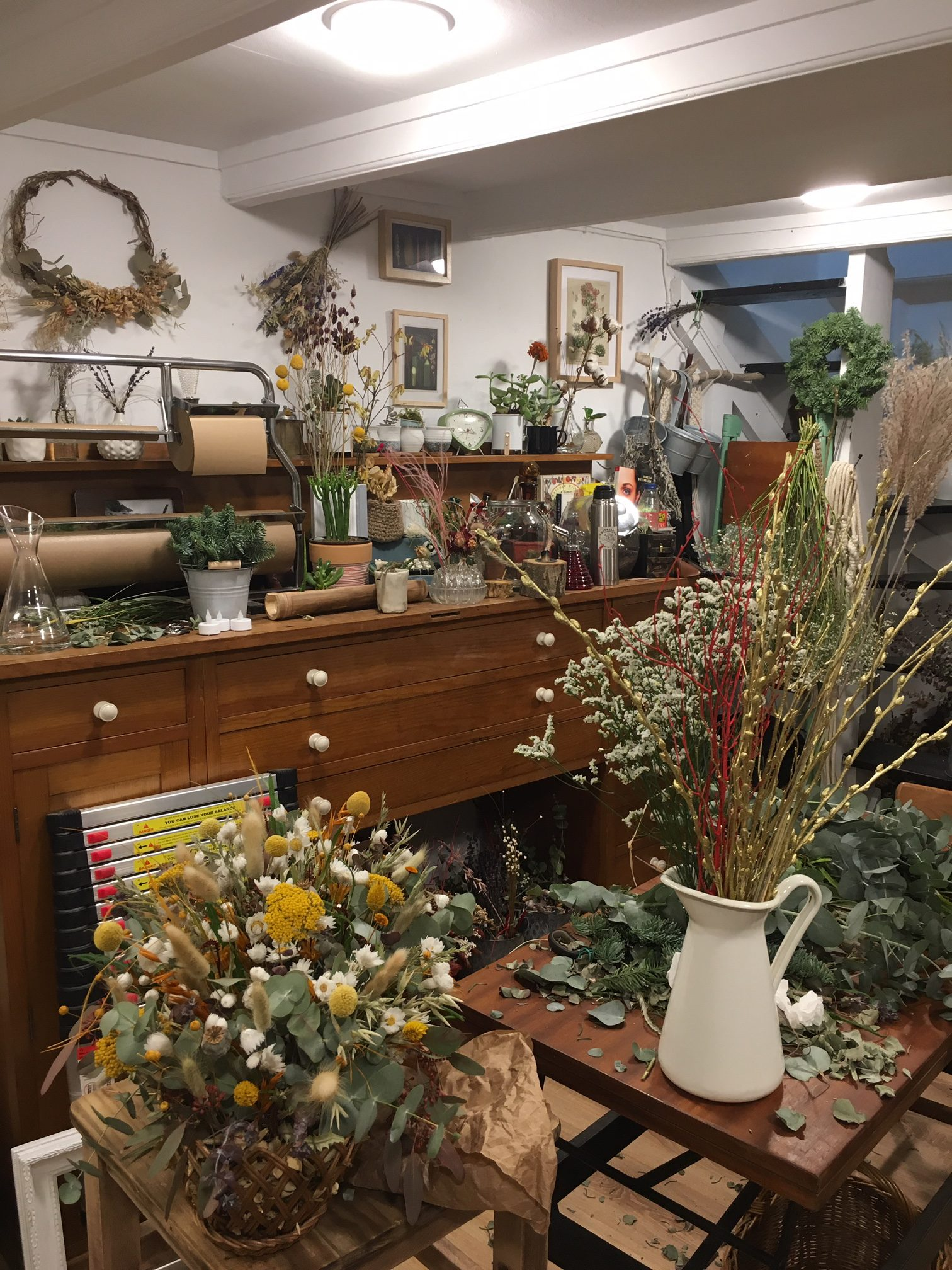 Botanikum flower shop in San Sebastian