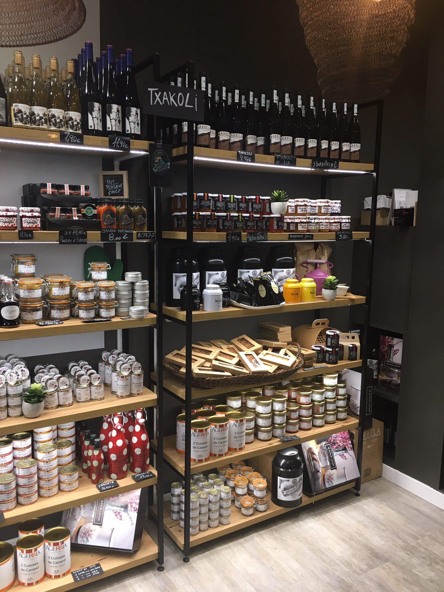 La Oveja Latxa store in San Sebastian
