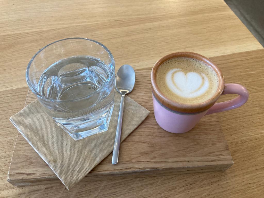 Café con leche at oBaba