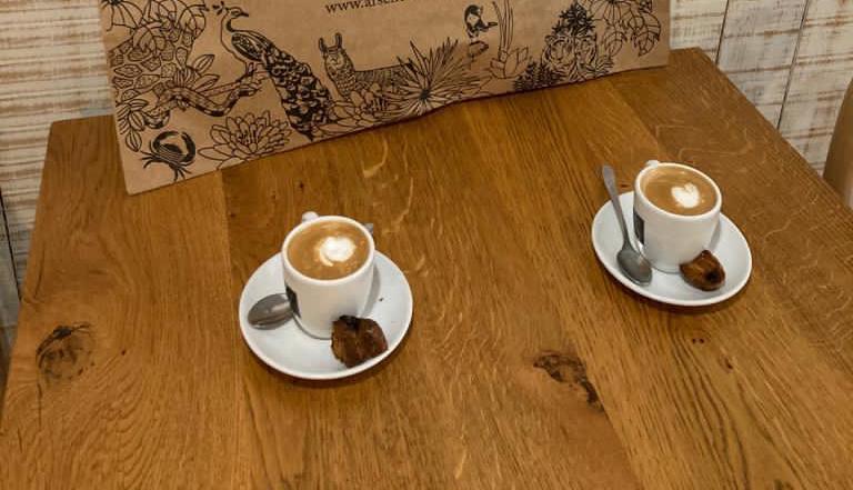 A genuinely well prepared Café cortado